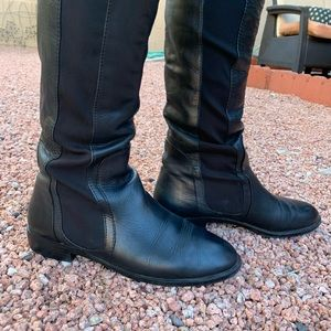 Report leather over the knee boots